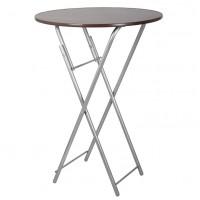 Складной стол СРП-С-111 барный (Ø800)