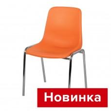 Стул Симпл с пластиковым сиденьем со спинкой СРП-051