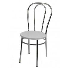 Стул Венский с пластиковым сиденьем СРП-075 (спинка две дуги)
